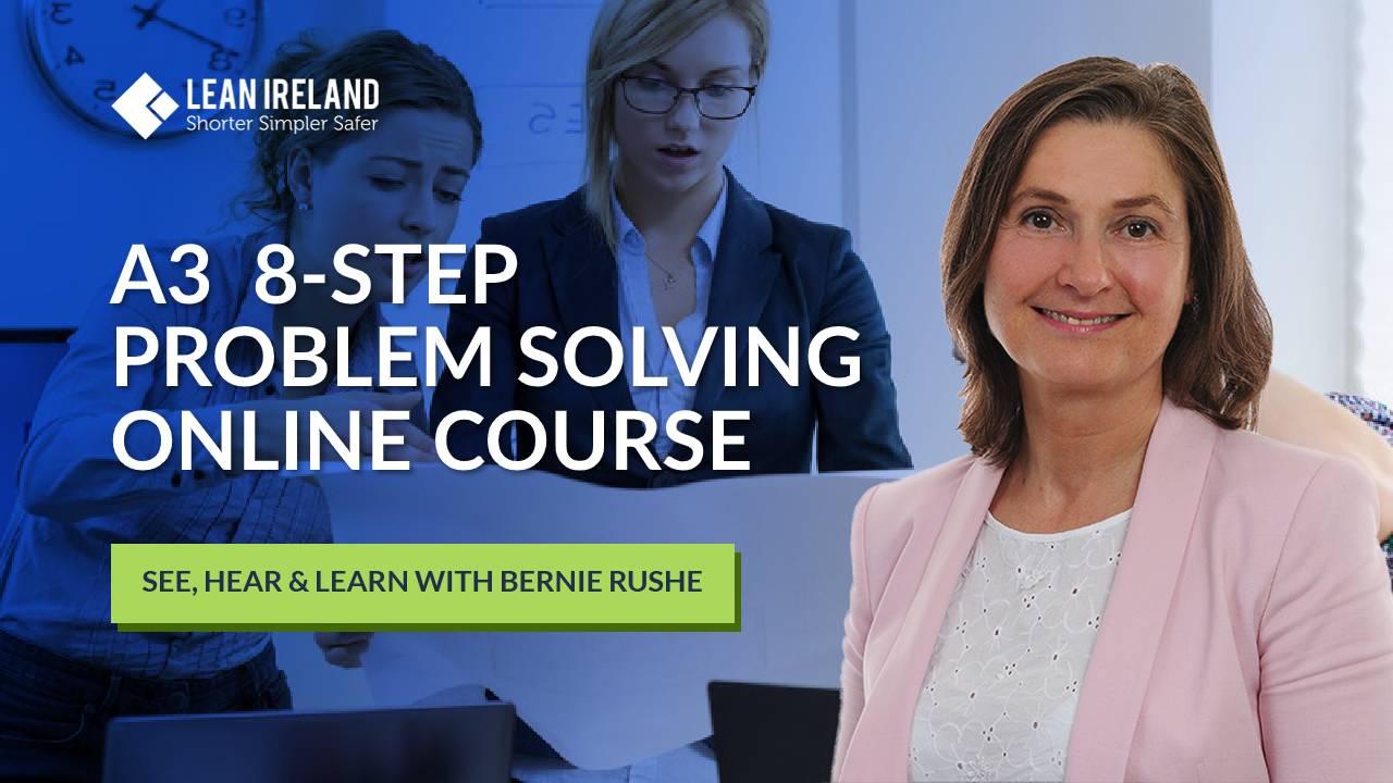 8 step A3 problem solving online course