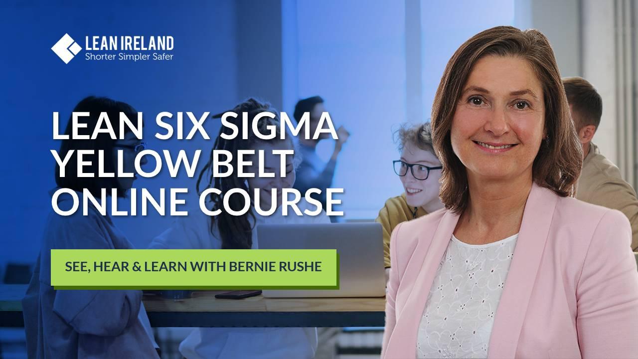 Lean Ireland certified six sigma yellow belt online course