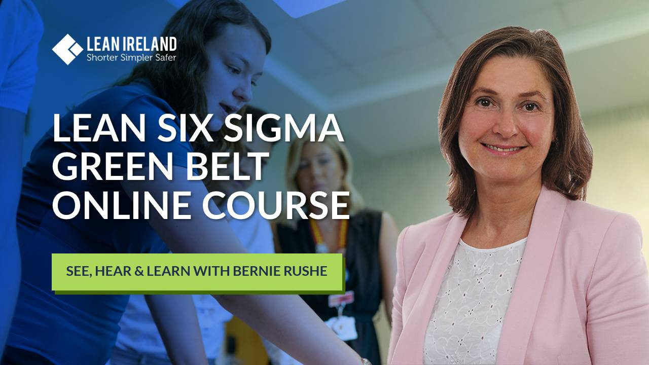 lean six sigma green belt course online